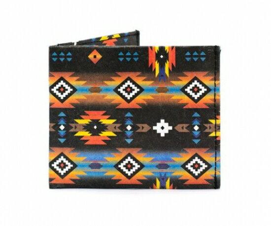 Paperwallet (ペーパーウォレット) Wallet ( 二つ折り財布) Tyvek (タイベック) 製 WAL007TRB 【Tribal Tyvek】