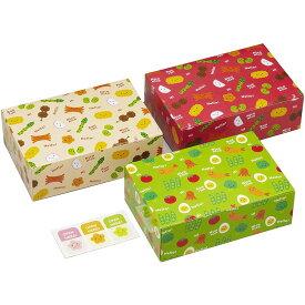 【お弁当BOX】ランチパック おかず<止めシール付き>3枚入
