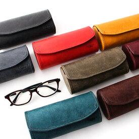 メガネケース プレゼント ハード 大きいサイズ メンズ ギフト 無料 眼鏡ケース レディース 本革 革 皮 レザー プエブロ サングラスケース めがねケース ハードケース シンプル おしゃれ ブースターズ Boosters