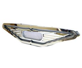 日野型 アンドン ウイングデザイン バスマーク 行灯 ステンレス鏡面仕上げ 蛍光灯仕様 トラック 24V デコトラ ダンプ レトロ