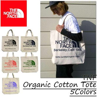 All five colors of The North Face/ ザノースフェイストートバッグ TNF organic cotton Thoth TNF Organic Cotton Tote 5Colors The North Face/ ザノースフェイス
