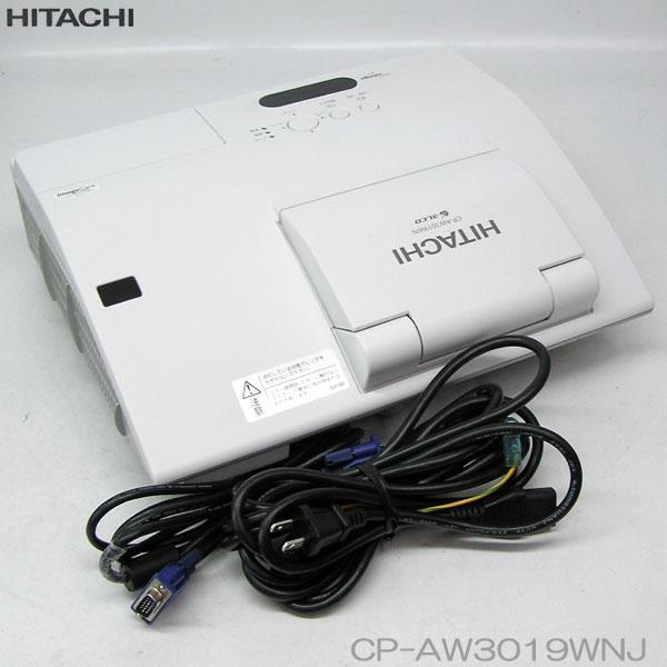 □■□特価品//HITACHI 3000lm HDMI プロジェクター 【CP-AW3019WN】 ランプ時間 249h 動作確認済 【中古】