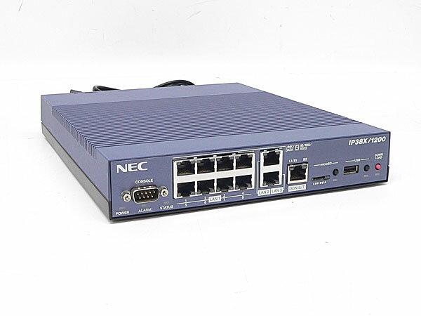 □# NEC(ヤマハOEM) IP38X/1200 (RTX1200) VPNルーター 最新FW10.01.76 初期化済み【中古】