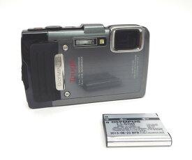 □◆OLYMPUS 防塵・防水デジタルカメラ STYLUS TG-830 Tough シルバー 本体のみ【中古】『送料無料』10005701