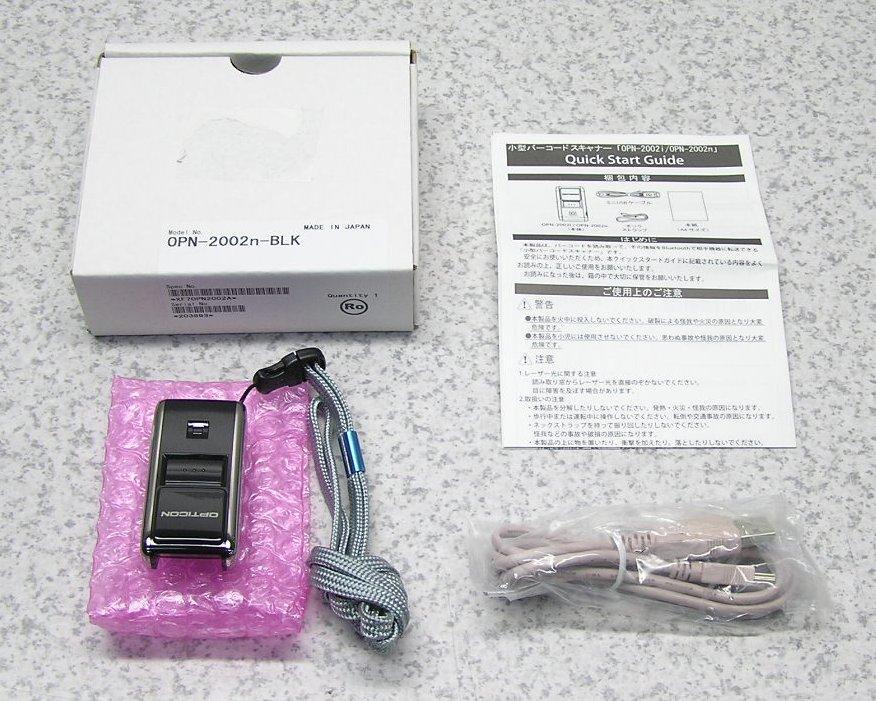 □■【新品未使用】 OPTOELECTRONICS/オプト OPN-2002n Bluetooth搭載 超コンパクトサイズデータコレクタ 1次元モデルバーコードリーダー