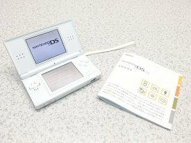 □■※Nintendo/任天堂 ニンテンドーDS Lite クリスタルホワイト ACアダプタ欠品 取扱説明書付属 初期化済み 動作確認OK 【中古】 『送料無料』