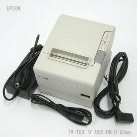 □■β EPSON サーマルプリンタ TM-T88/5 481 M244A USB/DM-D 80mm 【中古】