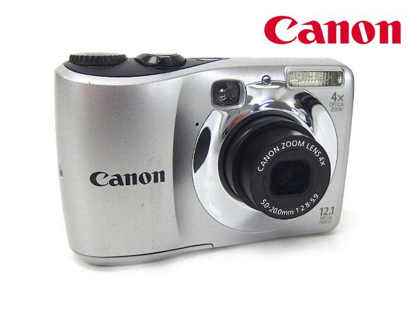 □■α動作保証付き Canon/キャノン デジタルカメラ PowerShot A1200 1210万画素/単三電池2本で使用 動作確認済み【中古】