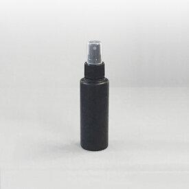 プラスチック容器 スプレーボトル PEスプレーボトル100ml黒