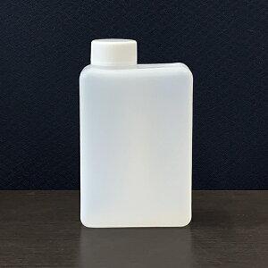 プラスチック容器 PE角型ボトル500cc KK500PE