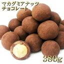 マカダミアナッツ チョコレート 大粒(ホール) お徳用 380g【メール便送料無料】