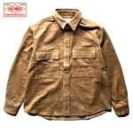 BIGMIKE/ビッグマイクCORDUROYWORKSHIRTS/コーデュロイワークシャツ・BEIGE