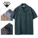 BLUCO WORK GARMENT/ブルコ STANDARD WORK SHIRTS SS/半袖ワークシャツ OL-108-020・6color
