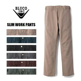 BLUCO WORK GARMENT/ブルコ SLIM WORK PANTS/スリムワークパンツ OL-063・6color