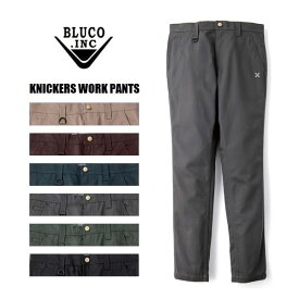 BLUCO WORK GARMENT/ブルコ KNICKERS WORK PANTS/ニッカーズワークパンツ OL-062・6color