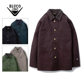 BLUCO WORK GARMENT/ブルコ COVERALL/カバーオール・5color