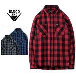 BLUCOWORKGARMENT/ブルコHEAVYNELSHIRTS-buffalocheck/バッファローチェックシャツ・3color