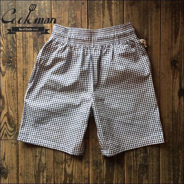 COOKMAN/クックマン Chef Short Pants/シェフショートパンツ・GINGHAM