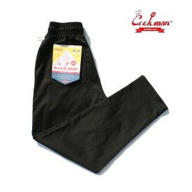COOKMAN/クックマン Chef Pants/シェフパンツ・BLACK