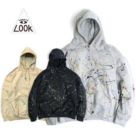 THRIFTY LOOK / PAINT GILDAN HOODIE ペイントフーディー・3color