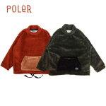 POLER/ポーラー90'SSHEEPBOAFLEECEMOCKNECK/ボアフリースジャケット・2color