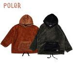 POLER/ポーラー90'SSHEEPBOAFLEECEHOODIE/ボアフリースジャケット・2color