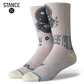 GRATEFUL DEAD×STANCE/スタンスソックス STEAL YOUR FACE・NATURAL