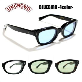 UNCROWD/アンクラウド BLUEBIRD/サングラス・バイカーシェード【4color】