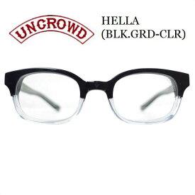 UNCROWD/アンクラウド HELLA/サングラス・BLK.GRD-CLR