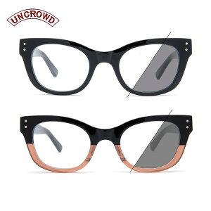 UNCROWD/アンクラウド PRELUDE -Photochromic-/調光レンズモデル UC-036P・2color
