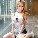 メイド コスチューム 5点セット ベビードール コスプレ メイド服 大きいサイズ L メイド衣装 ワンピース セクシー下着…