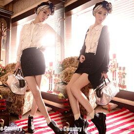 【週末セール】OL風伸縮性ありミニスカートです!シンプルなAラインスカート/ミニスカート/ウェストゴム/タイトル【RCP】