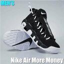 【クレジット+エントリーでポイント17倍】Air More Money ナイキ エアモア マネー ブラック AJ2998-001 メンズ スニ…