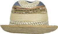 [HATS&DREAMS]ミックスブレード中折れHAT春夏新作リゾート帽子イタリア製レディースメンズHATおしゃれ