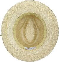 [MARZI]マルツィイタリア製中折れHAT帽子おしゃれストローハット麦わら帽子春夏新作リゾート帽子レディース