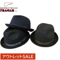 【FRAMAR(フラマー)】ウール中折れHATイタリア製