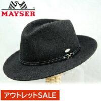 【MAYSER】レザーベルト付きフェルトHATトレッキング