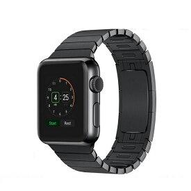 Apple Watch Series6 /SE 対応 【ネコポス便送料無料】 Series5 Series4 Series3 apple watch series2 1 アップルウォッチ バンド Apple watchベルト ステンレスバンド リンクブレスレット シリーズ5 シリーズ6 Series6