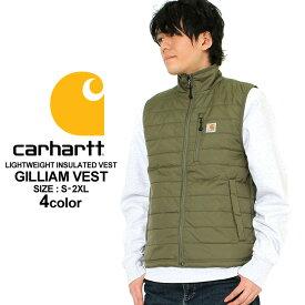 【送料299円】カーハート Carhartt カーハート ベスト メンズ 防寒 ナイロンベスト Gilliam Vest [Carhartt カーハート ベスト メンズ 大きいサイズ ナイロンベスト 防寒 撥水 軽量 ベスト 軽量 大きいサイズ メンズ XL XXL LL 2L 3L]