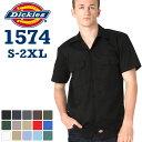 Dickies ディッキーズ ワークシャツ 半袖 アメカジ 夏 dickies ワークシャツ 1574 ディッキーズ シャツ 半袖 メンズ …