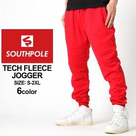 SOUTHPOLE サウスポール ジョガーパンツ メンズ 大きいサイズ メンズ スウェットパンツ メンズ 細身 ストリートファッション 黒 ブラック グレー ネイビー XL XXL LL 2L 3L (USAモデル) (clearance)