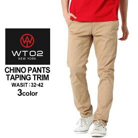 WT02 チノパン ストレート メンズ 18191-3303|大きいサイズ USAモデル ブランド ダブルティー02|チノ パンツ ストリート (clearance_1004)