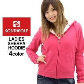半額!楽天スーパーセール | サウスポール パーカー ジップアップ 無地 レディース 大きいサイズ USAモデル ブランド SOUTH POLE スウェット ストリート XL XXL LL 3L (1204sale) (CLE)