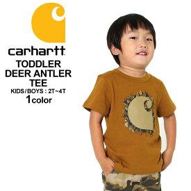 [キッズ] カーハート Tシャツ 半袖 USAモデル ボーイズ│ブランド Carhartt|半袖Tシャツ ロゴ|子供 子供服 男の子 女の子 アメカジ おしゃれ 大きいサイズ 小さいサイズ