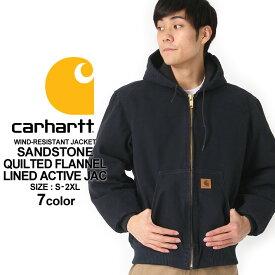 カーハート ジャケット メンズ アクティブジャケット 大きいサイズ j130 USAモデル│ブランド Carhartt|ダックジャケット ワークジャケット カバーオール 作業着 作業服 アメカジ おしゃれ 防寒