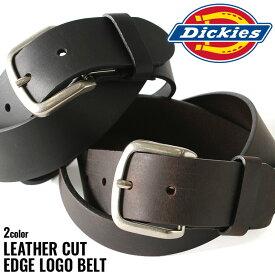 ディッキーズ ベルト メンズ 本革 レザー 11DI02M7|大きいサイズ USAモデル Dickies|カジュアル ロング 【W】
