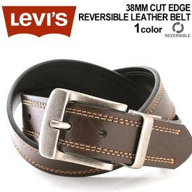 リーバイス ベルト リバーシブル 回転式バックル 大きいサイズ USAモデル|ブランド Levi's Levis|本革 レザー アメカジ カジュアル