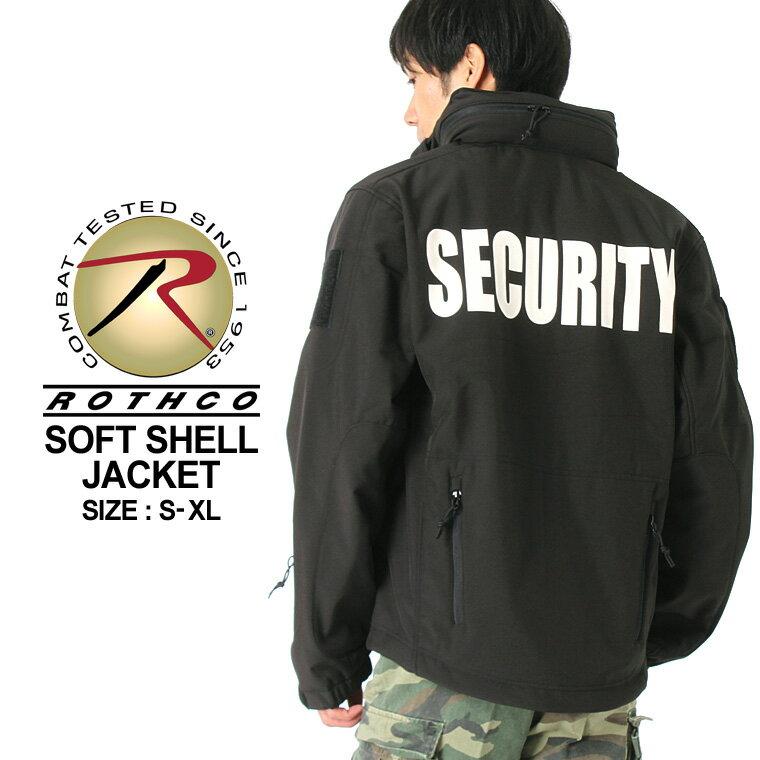 ロスコ ROTHCO ロスコジャケット メンズ 大きいサイズ シェルジャケット [ロスコ ROTHCO ジャケット メンズ 冬 ソフトシェルジャケット ミリタリー シェルジャケット 防寒 アメカジ ブランド 大きい 黒 ブラック XL XXL LL 2L 3L] (USAモデル)