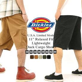 Dickies ディッキーズ ハーフパンツ メンズ カーゴ 大きいサイズ (USAモデル) (dr251) [ディッキーズ Dickies ハーフパンツ メンズ カーゴパンツ ハーフ カーゴショーツ 無地 アメカジ ブランド XL XXL LL 2L 3L] (USAモデル)