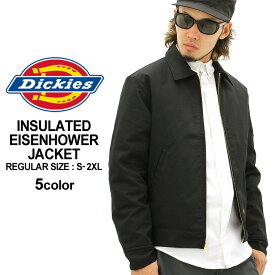 ディッキーズ Dickies ディッキーズ ジャケット メンズ 秋冬 大きいサイズ メンズ [Dickies ディッキーズ アイゼンハワージャケット ワークジャケット 秋冬 ディッキーズ ジャケット ディッキーズ ジャケット XL XXL LL 2L 3L] (USAモデル) (tj15)